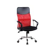 376ff352cfa00 Kancelárske kreslo, červená/čierna, TC3-973M 2 NEW